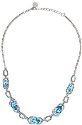 GivenchyGivenchy Crystal Chain-Link Necklace