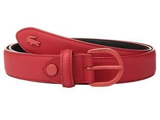Lacoste L.12.12 Pique PVC Belt Women's Belts
