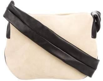CelineCéline 2016 Suede Small Ribbon Shoulder Bag w/ Tags