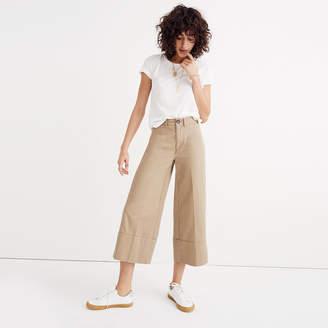 Langford Wide-Leg Crop Pants in Light Latte $68 thestylecure.com