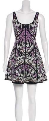 Herve Leger Cypress A-Line Dress