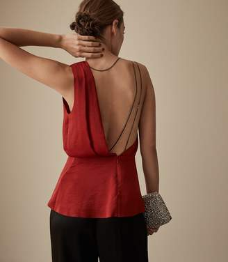 Reiss Adalee Strappy Back Top