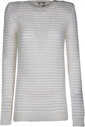 Balmain Ribbed Knit Sweater