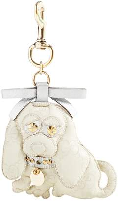 Gucci Beige Leather Bag charms