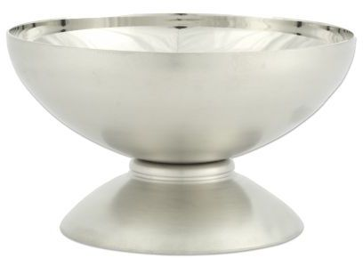 Sur La Table Footed Stainless Steel Dessert Bowl, 4oz