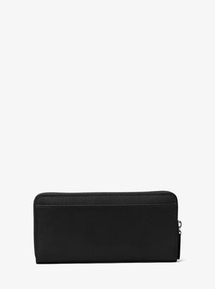 Michael Kors Harrison Leather Zip-Around Wallet