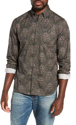 Todd Snyder Classic Fit Thomas Mason Floral Sport Shirt