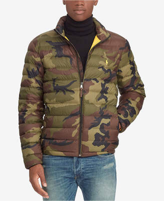 Polo Ralph Lauren Men's Big & Tall Camouflage Packable Down Jacket