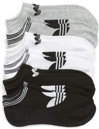 adidas 6-Pack No-Show Socks