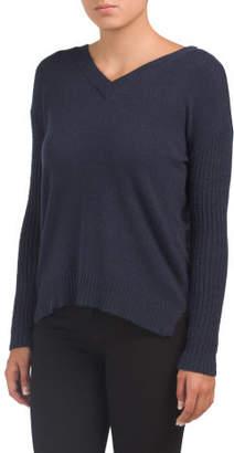 Juniors V-neck Sweater