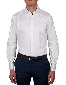 Geoffrey Beene Solitude Stretch Dobby Slim Fit Shirt