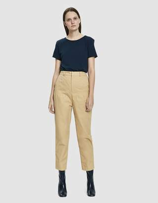 Stelen Indie High-Waisted Twill Pant in Desert Camel
