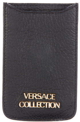 Versace Versace Collection Leather Phone Holder