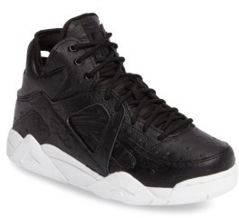 Boy's Fila The Cage Ostrich Sneaker $69.95 thestylecure.com