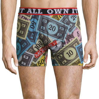 Novelty Licensed Monopoly Money Boxer Briefs