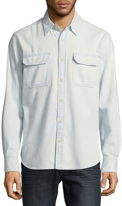 Jean Shop Men's Kevin Pool Cotton Button-Down Shirt