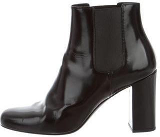 Saint LaurentSaint Laurent Square-Toe Ankle Boots