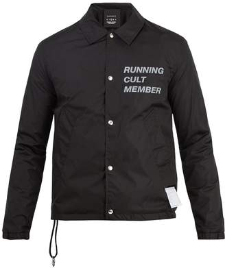Satisfy Post Run Coach windbreaker jacket