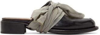 Cherevichkiotvichki Black Moccasin Slippers