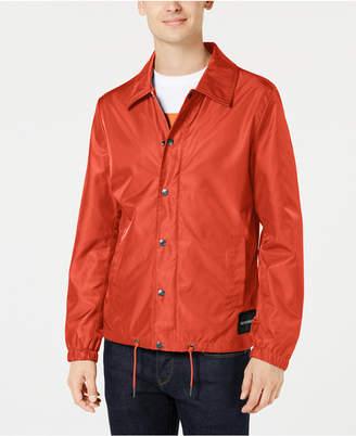 Calvin Klein Jeans Men's Monogram Coaches Jacket