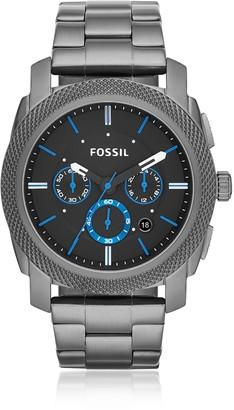 Fossil Machine Chronograph Smoke Stainless Steel Men's Watch