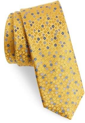 The Tie Bar Flower Fields Silk Tie