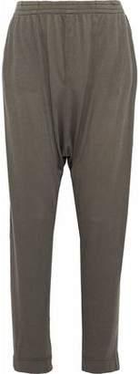 Raquel Allegra Brushed Cotton-Blend Jersey Harem Pants