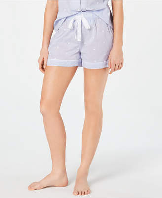Charter Club Woven Cotton Pajama Shorts, 8151635