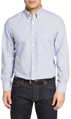 Nordstrom Classic Fit Check Sport Shirt (Tall) $69.50 thestylecure.com