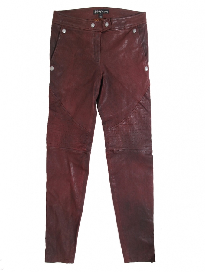 Elizabeth and James Diedrick Leather Pant