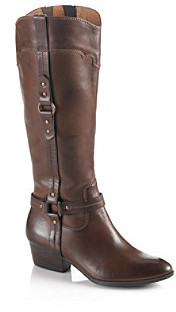 "Sofft Porter"" Southwestern Style Boot - Chocolate"