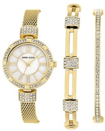 Anne KleinWomen's Anne Klein Watch & Bangle Set, 28Mm