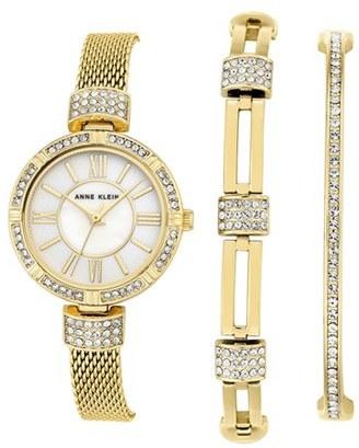 Women's Anne Klein Watch & Bangle Set, 28Mm $150 thestylecure.com