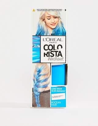 L'Oreal L Oral Pa Colorista Wash Out Hair Colour - Ocean Blue