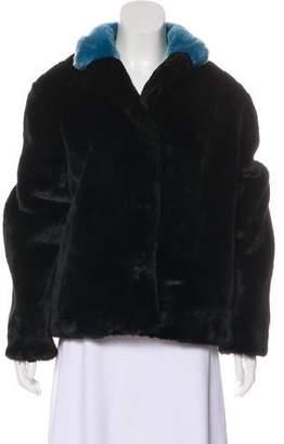 Marc by Marc Jacobs Faux Fur Jacket