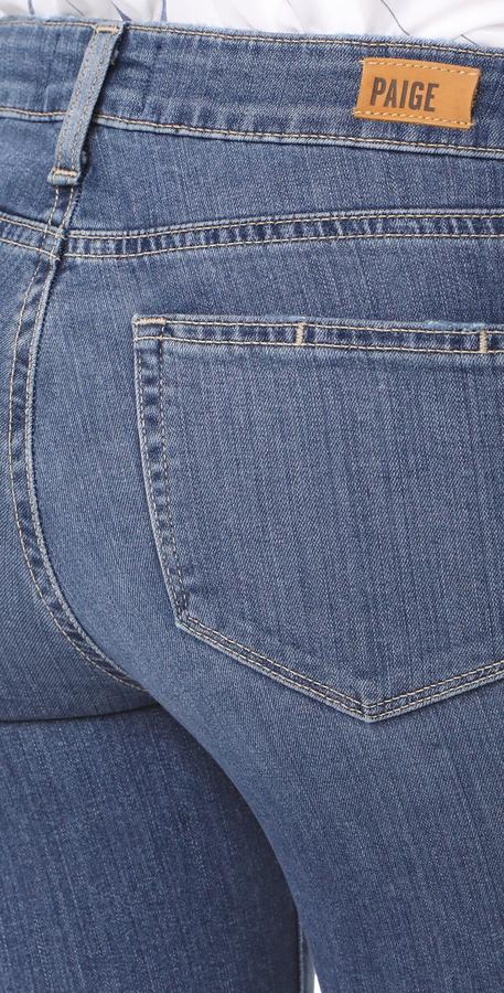 PAIGE Verdugo Crop Skinny Jeans 2