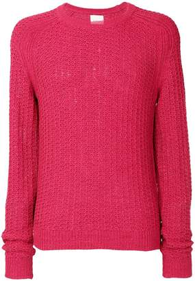 Laneus cable knit sweater