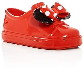 Mini Melissa Girls' Mini Be Minnie Sneaker Flats - Walker, Toddler