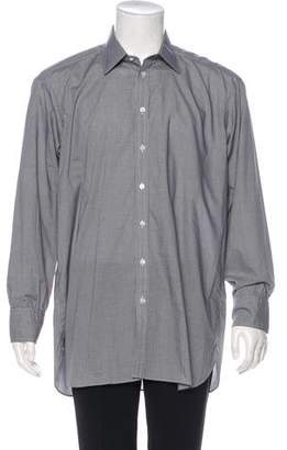 Turnbull & Asser Check Button-Up Shirt