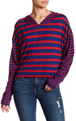 Free People Ref Stripe Hoodie