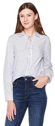 Essentialist Women's Cotton Oversized Boyfriend Shirt