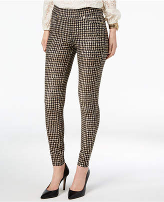Michael Kors Printed Pull-On Pants, In Regular & Petite Sizes