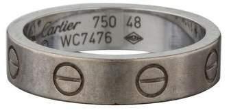 Cartier LOVE Diamond Wedding Band