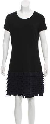 Chanel Paris-Shanghai Tiered Knit Dress