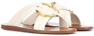 Chloé Rony leather slides