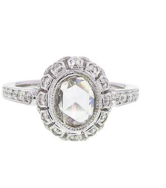 Couture Sethi Handmade Oval Rose Cut Diamond Ring