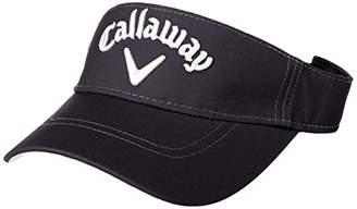 Callaway (キャロウェイ) - [キャロウェイ] [レディース] 定番 ロゴ入り サンバイザー (サイズ調整)[ 241-9984819 / BASIC VISOR WOMENS ] 帽子 ゴルフ 120_ネイビー 日本 FR (FREE サイズ)