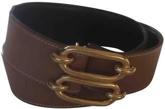 Hermes Camel Leather Belts
