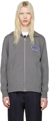 Kenzo Grey 'Come Out' Track Jacket $410 thestylecure.com