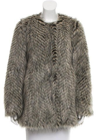 Marc By Marc JacobsMarc by Marc Jacobs Long Sleeve Faux Fur Jacket
